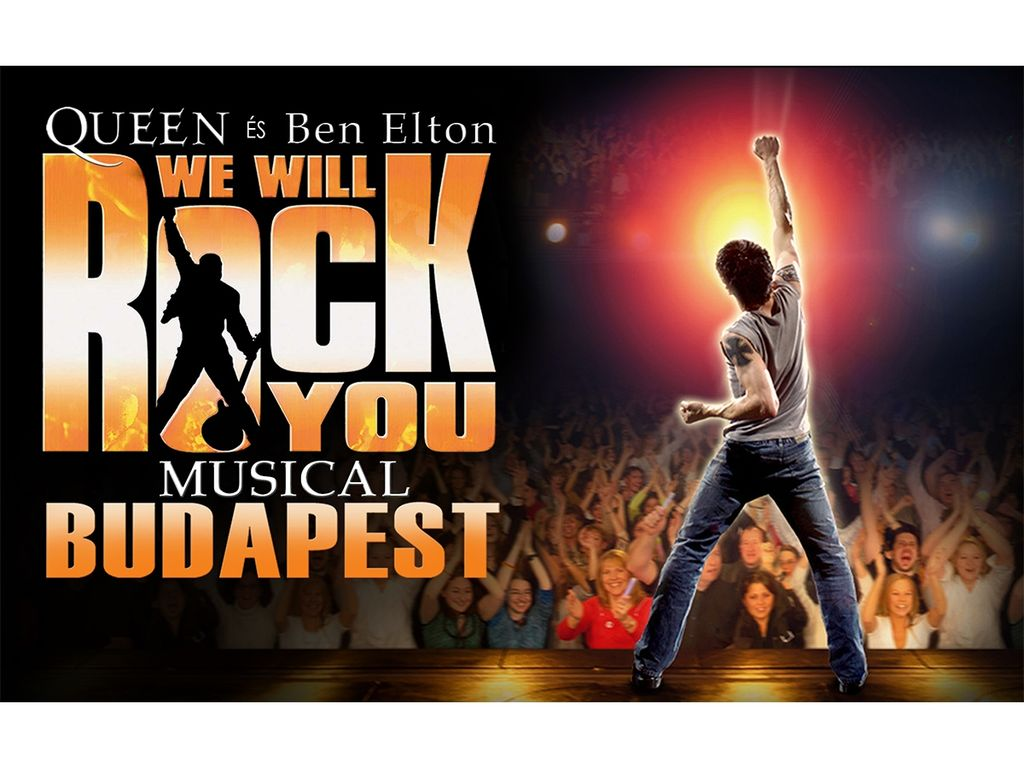 WE WILL ROCK YOU - QUEEN - BEN ELTON MUSICAL