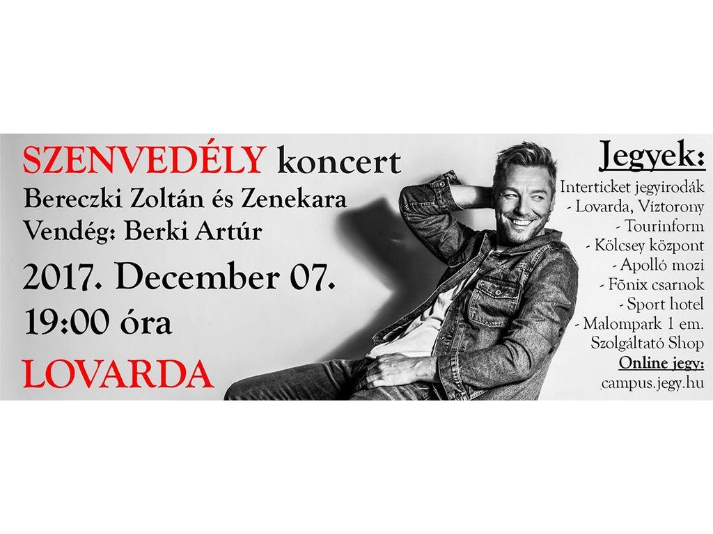 SZENVEDÉLY koncert - Bereczki Zoltán élőzenekaros nagykoncertje