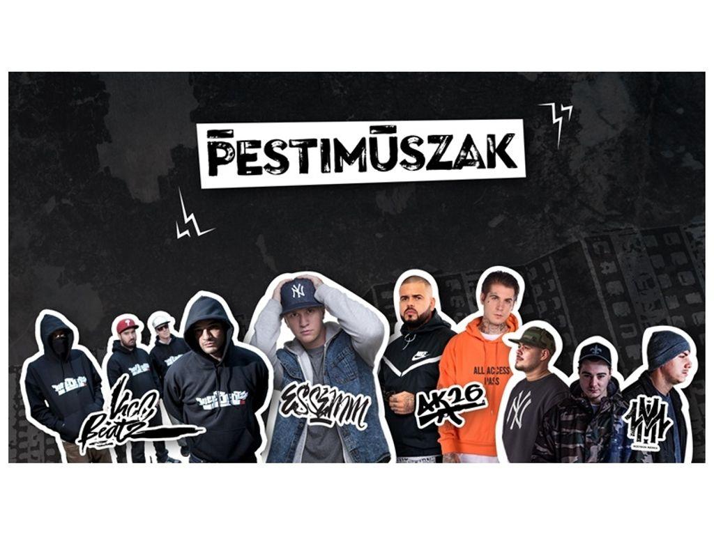 Pesti Műszak - Underground hip hop az Akváriumban!