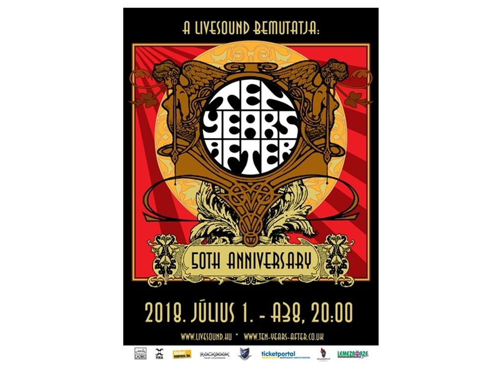 Ten Years After (UK) 50-th Anniversary Tour