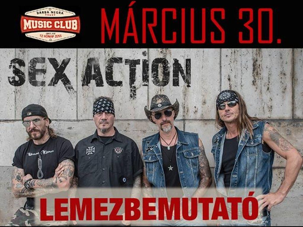 Sex Action lemezbemutató és Miksa 50 party a Barba Negrában