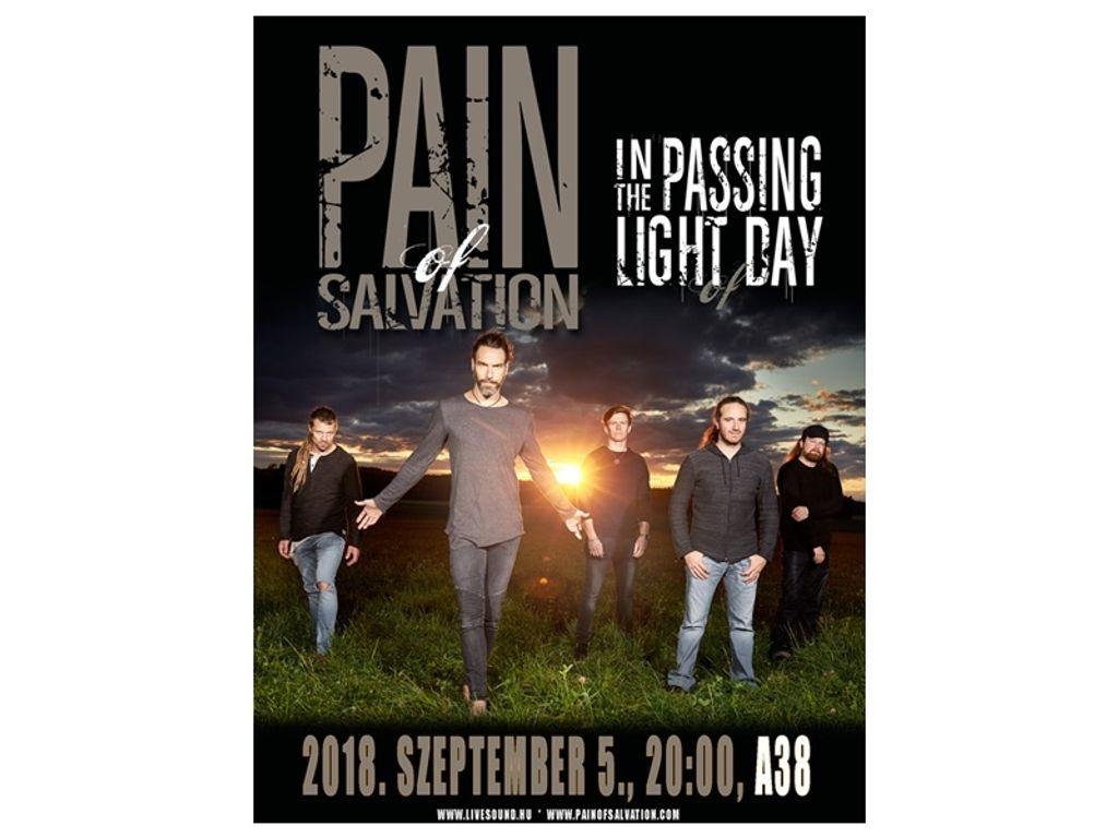 PAIN of SALVATION + support koncert