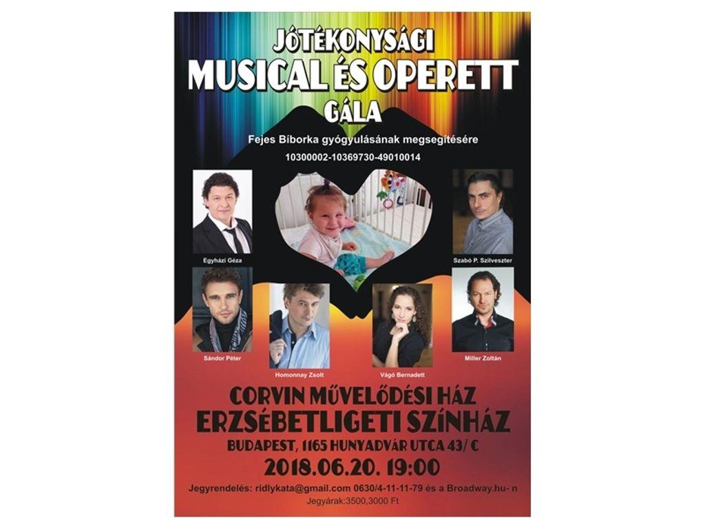 Musical és operett gála