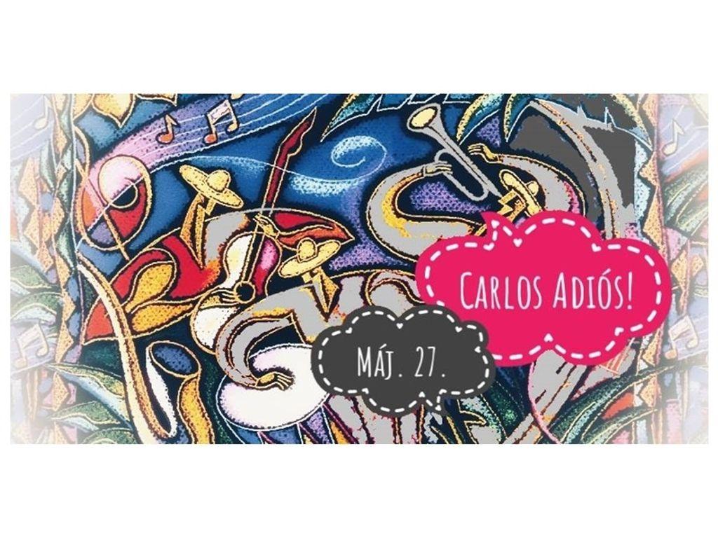 Carlos Adiós! concert :: latin music