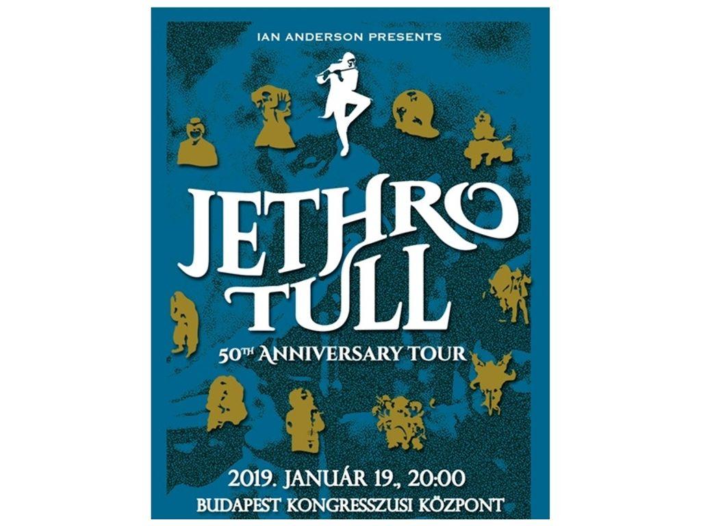 JETHRO TULL - 50 éves jubileumi turné