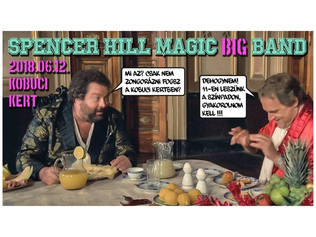 Spencer Hill Magic BIG Band
