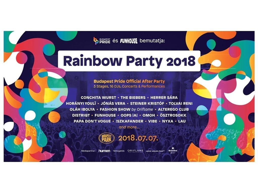 Budapest Pride Rainbow Party 2018 x Funhouse pres. Conchita Wurst