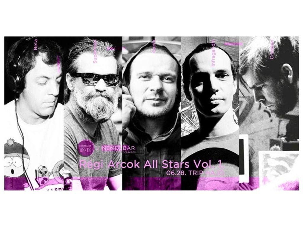 NemdeBárka: Régi Arcok All Stars Vol. 1.