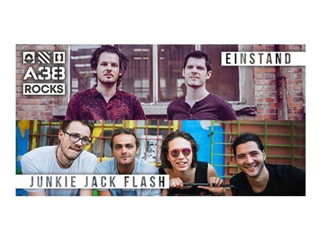 Einstand vs Junkie Jack Flash / A38 tetőterasz