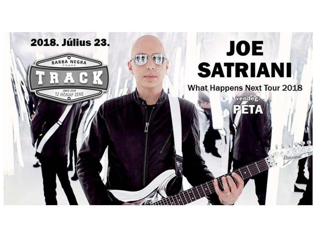 Joe Satriani - Budapest, vendég: PETA