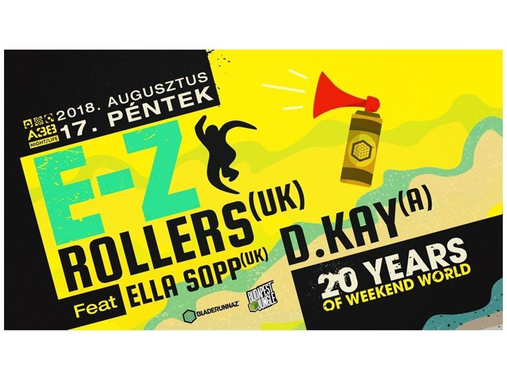 Budapest Jungle pres. EZ Rollers feat Ella Sopp, D.Kay