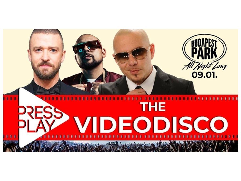 PressPlay - The Videodisco - Budapest Park