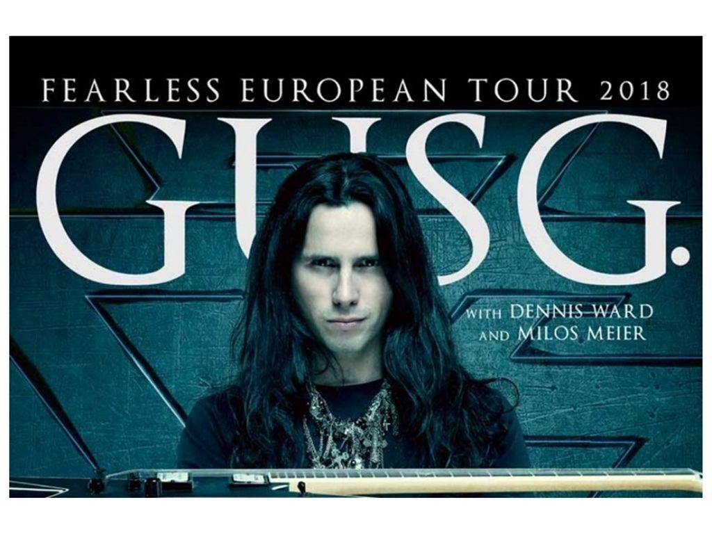 GUS G.+ Maxxwell + special guest koncert