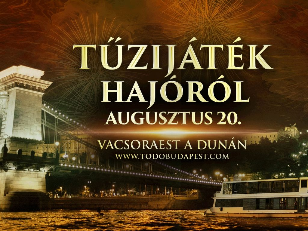 Augusztus 20. Tűzijáték...