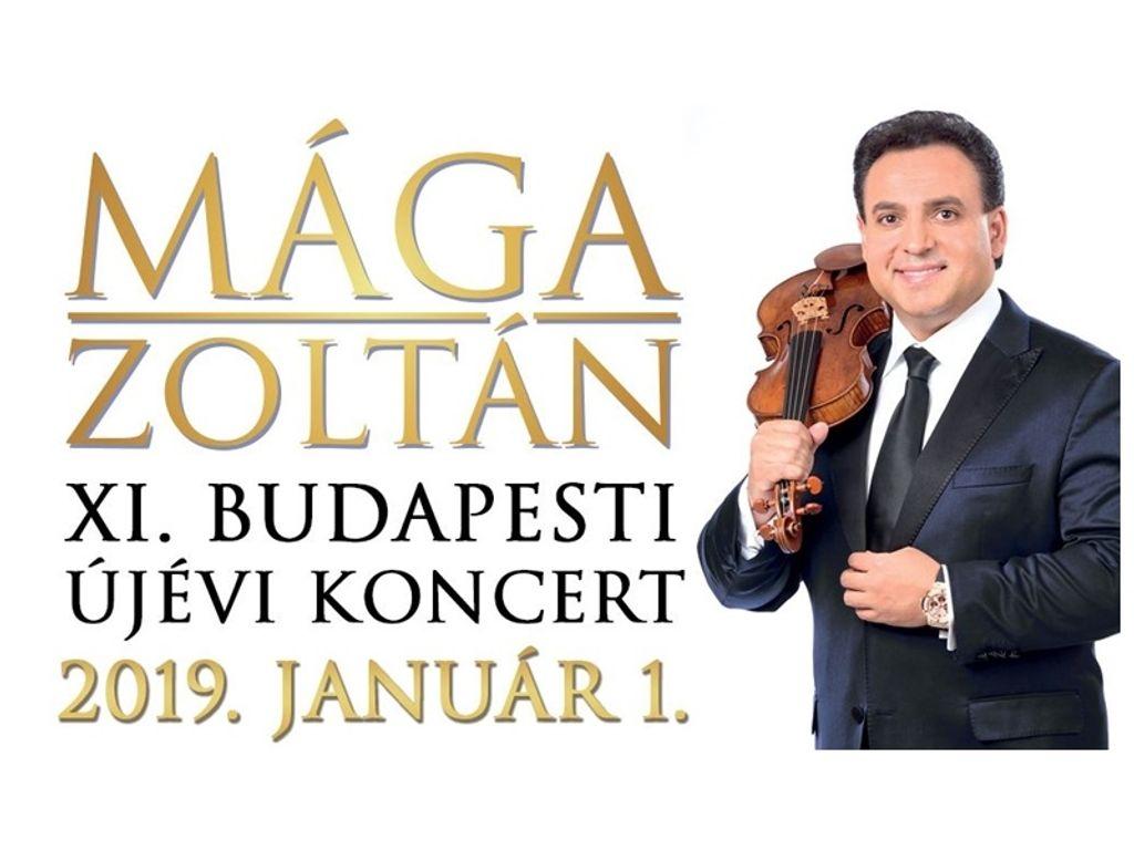 MÁGA ZOLTÁN Budapesti Újévi Koncert 2019