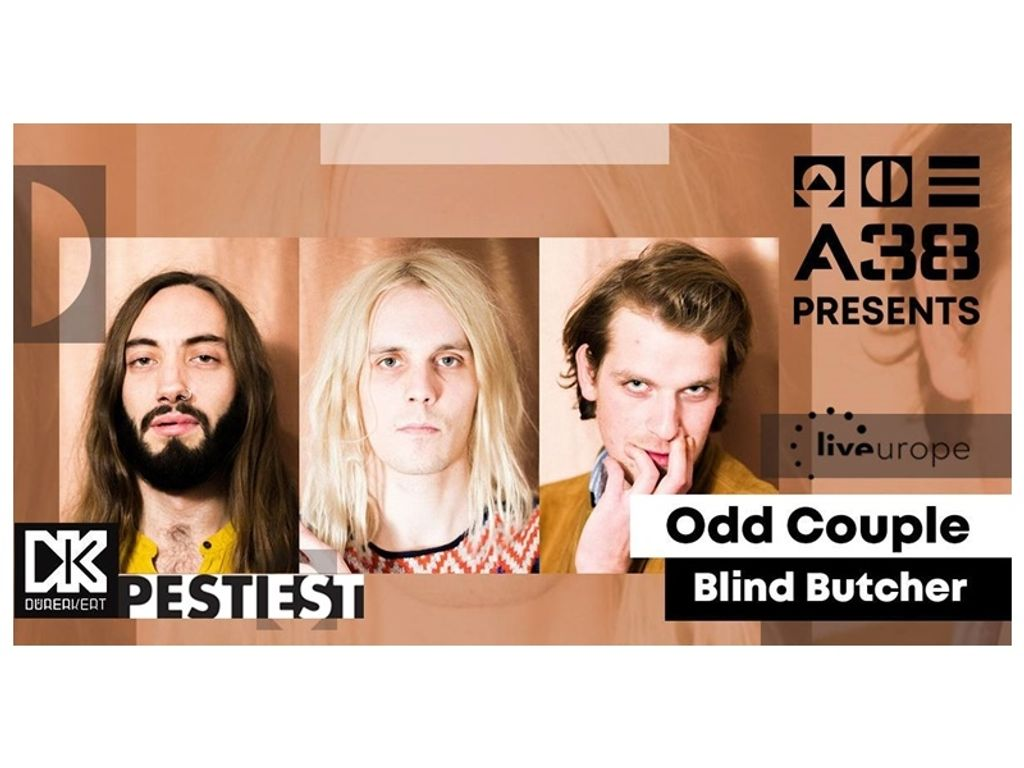 A38 pres. Pesti Estek: Odd Couple / Blind Butcher - Dürer Kert