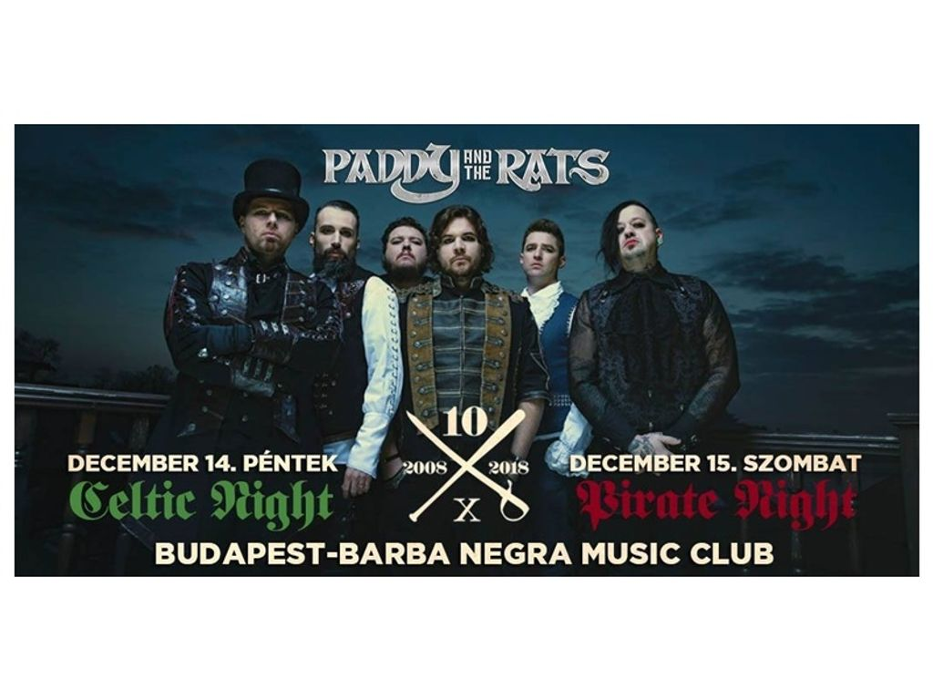 Paddy and the Rats - 12/14