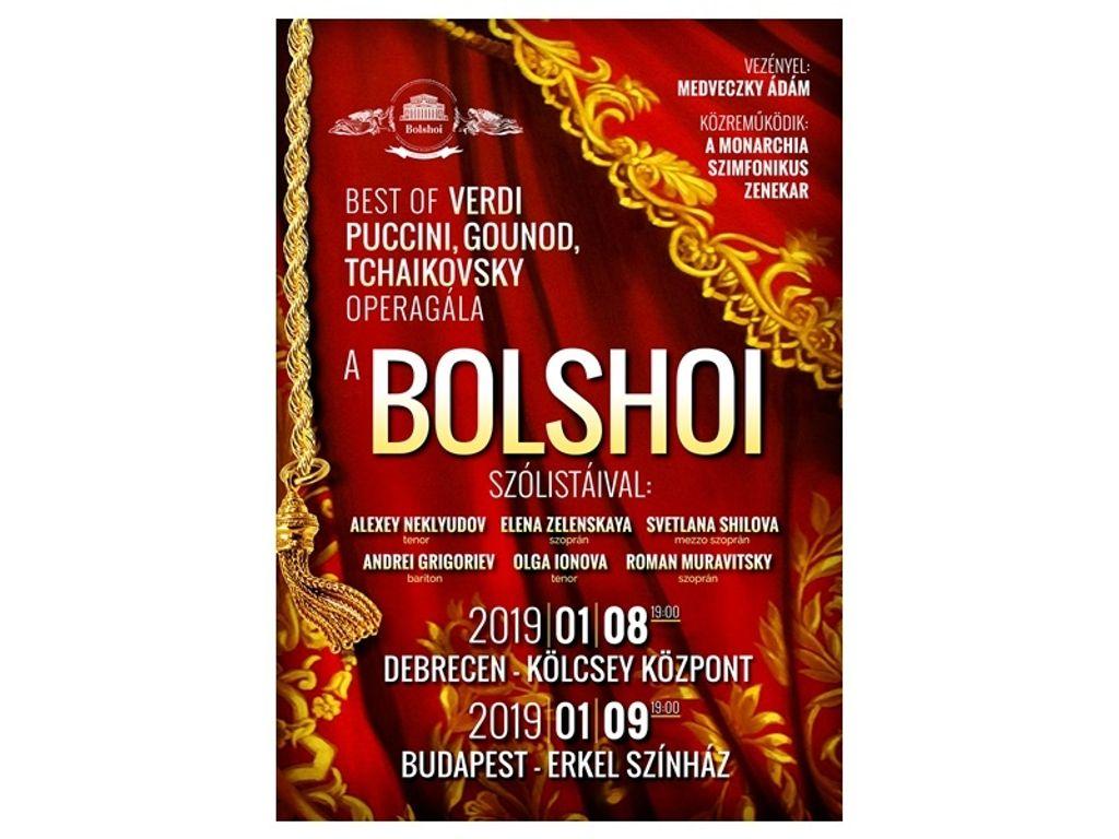 BOLSHOI - Best of VERDI, PUCCINI, GOUNOD, TCHAIKOVSKY