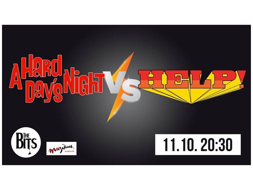 A Hard Day's Night vs. Help! a The Bits-szel - Muzikum