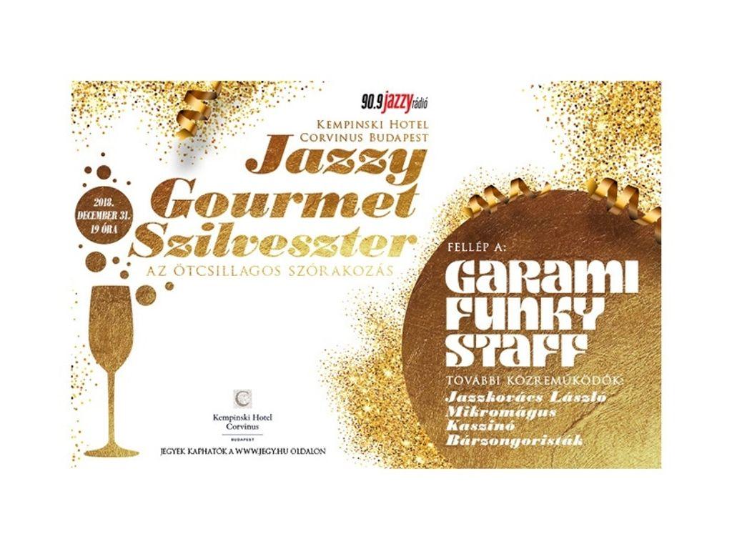 Jazzy Gourmet Szilveszter 2018 – Grand Room (Bálterem)