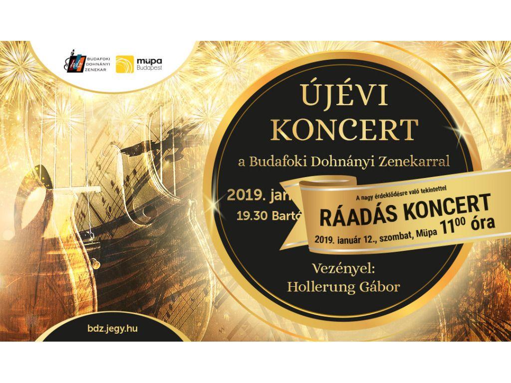 Újévi koncert - RÁADÁS