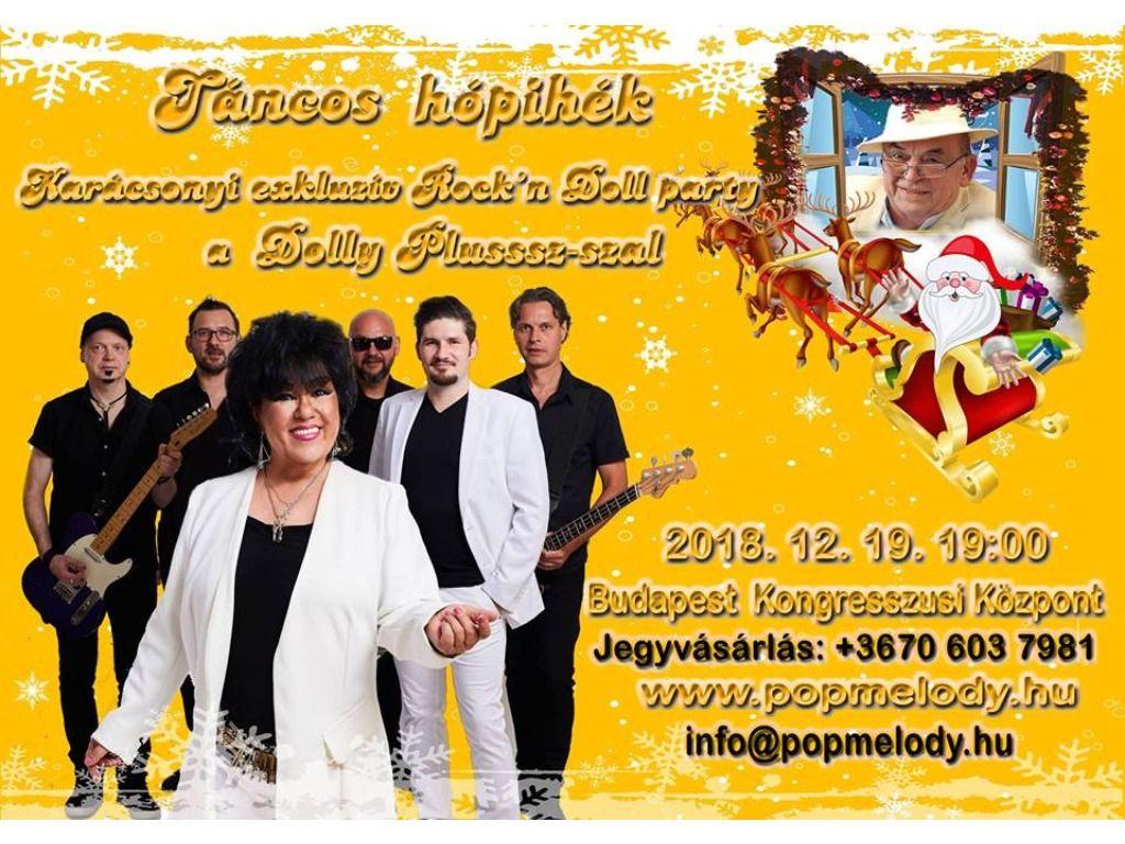 Táncos hópihék - Karácsonyi Rock'Doll party a Dolly Plusssz-szal