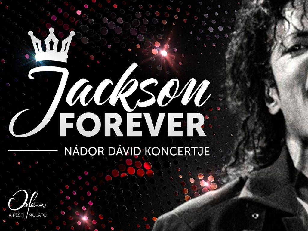 Jackson Forever – Nádor Dávid koncertje