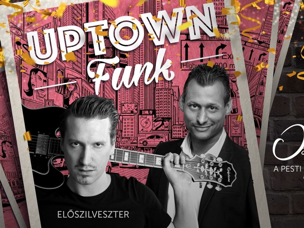 Uptown Funk Évadzáró koncert és party – Bebe, Pély Barna & DJ Gem-B