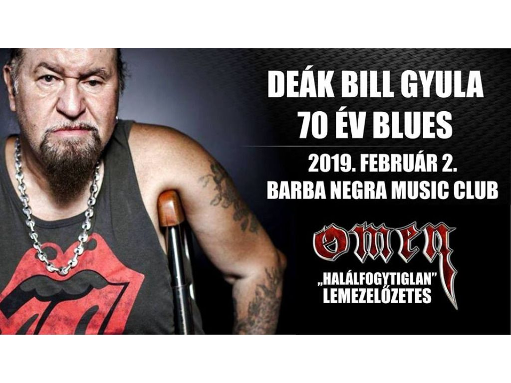 Deák Bill Gyula - 70 év blues // Omen - lemezelőzetes