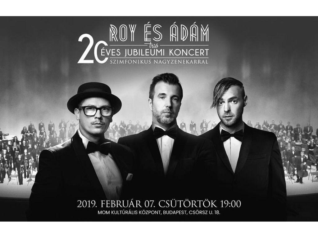 Roy és Ádám | 20 éves jubilemi koncert, szimfonikus...
