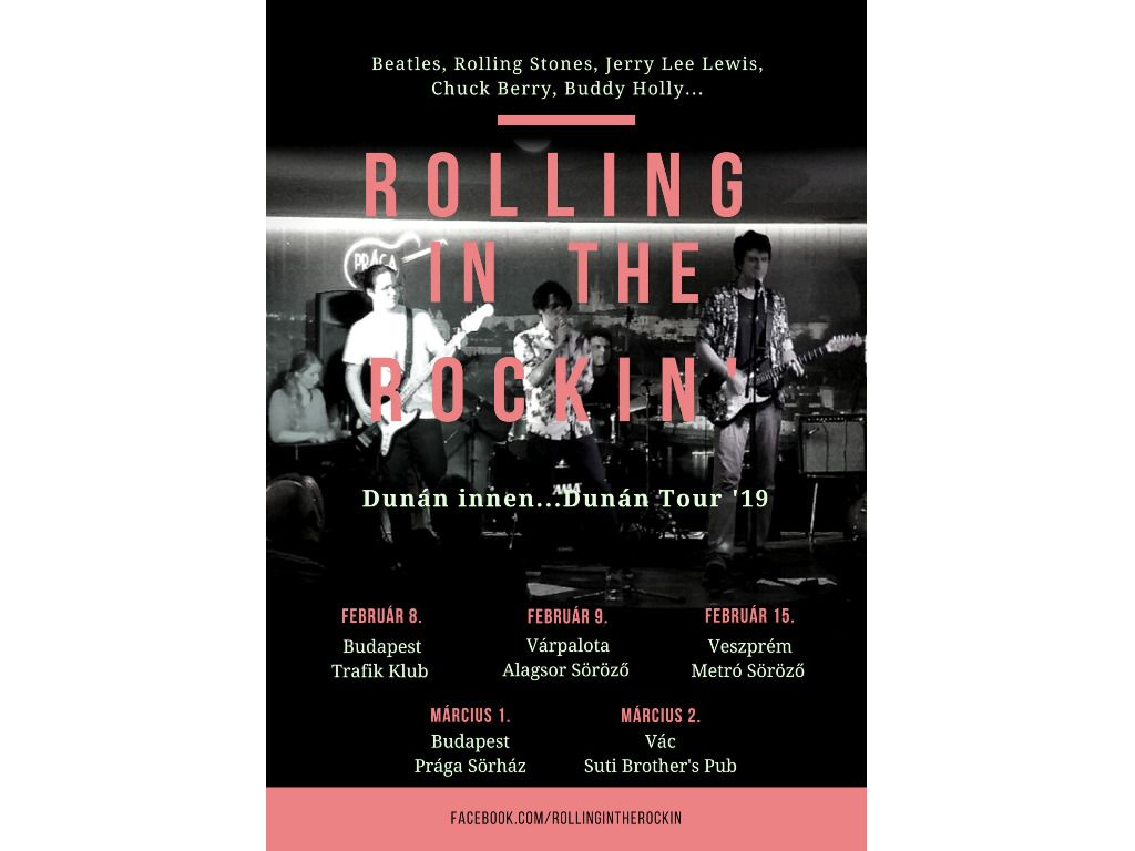 Rolling in the Rockin' - A R'n'RKoncert
