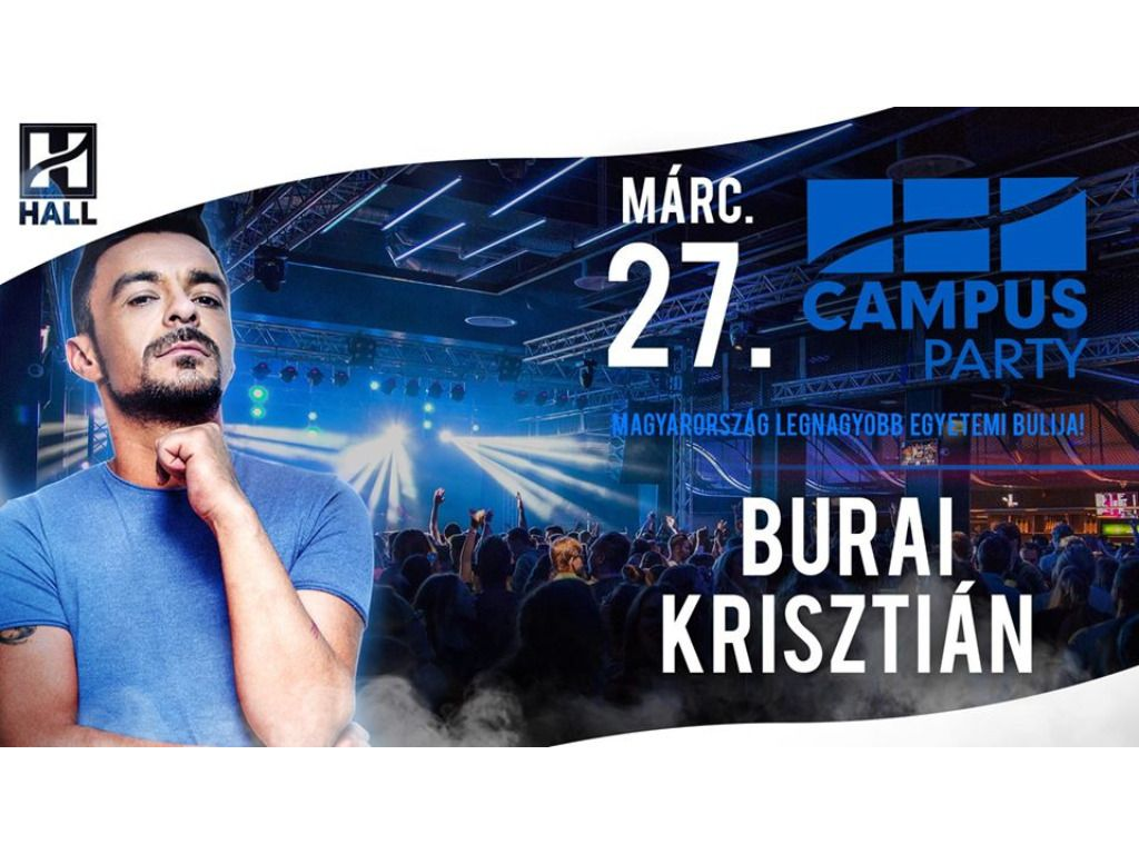 CAMPUS Party - Burai Krisztián