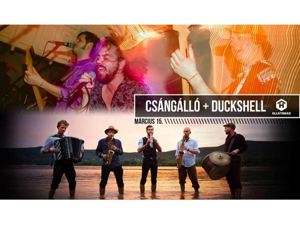 Csángálló + Duckshell: Forradalmi Fanfáros Fergeteg - ELLÁTÓház