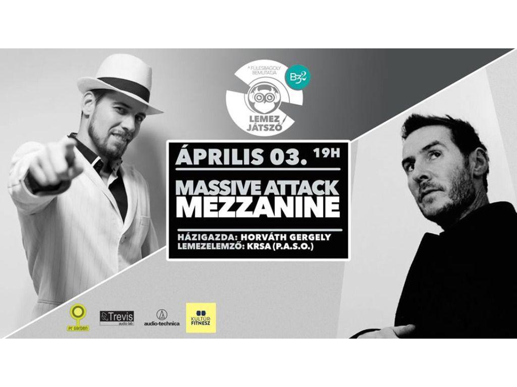 Lemezjátszó – Massive Attack w. Krsa
