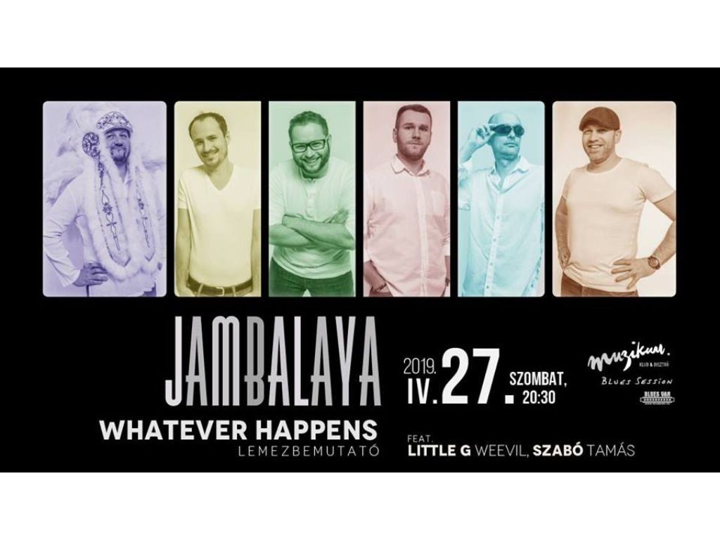 Jambalaya · Whatever...