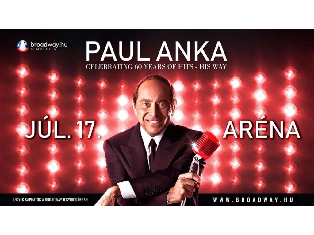 PAUL ANKA - CELEBRATING 60...