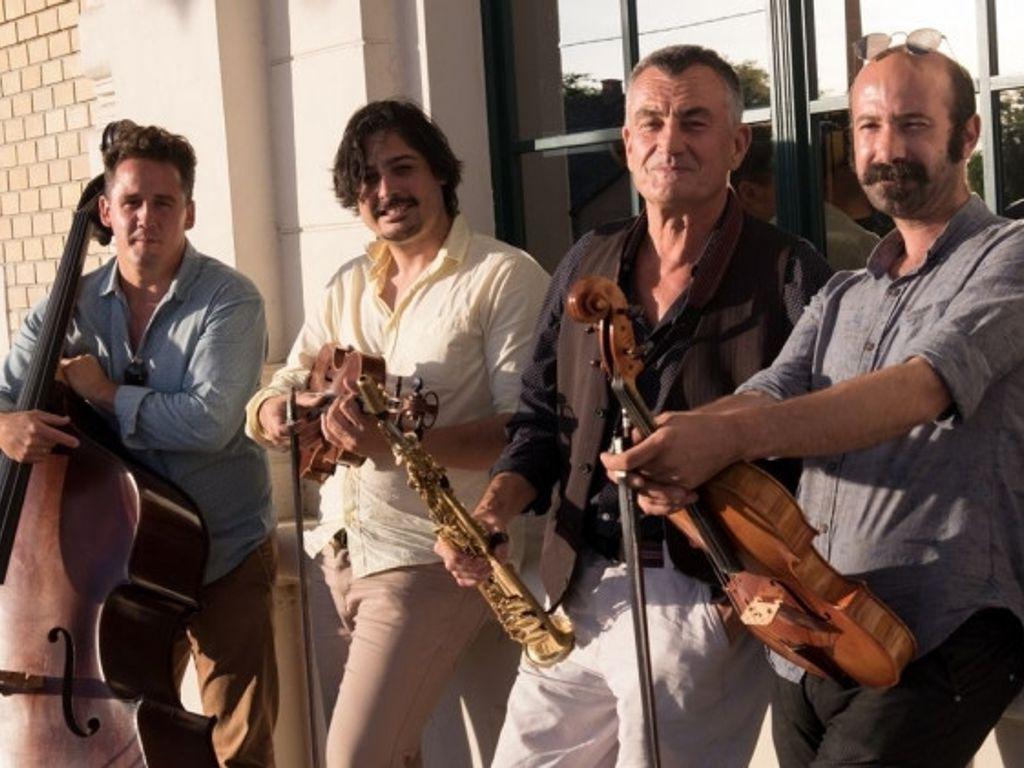 Dresch Mihály Vonós Quintet