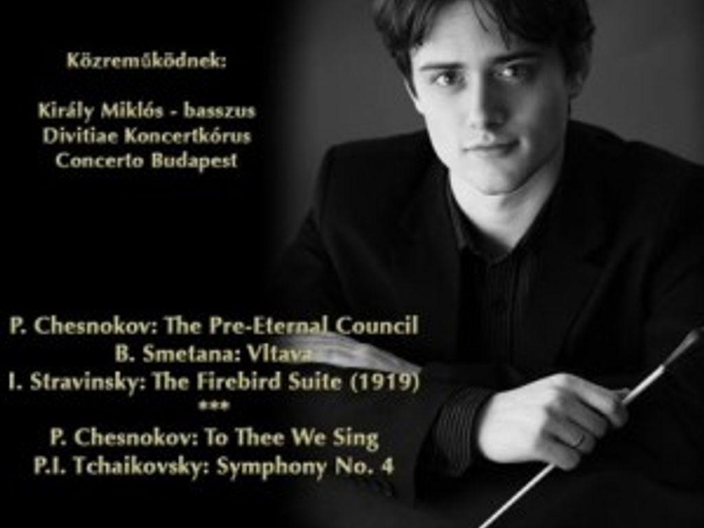 Dobszay Péter karmester diplomakoncertje