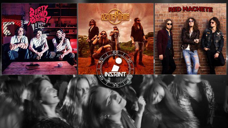 Nemzetközi rockőrület az Instantban az Ozone Mama jóvoltából