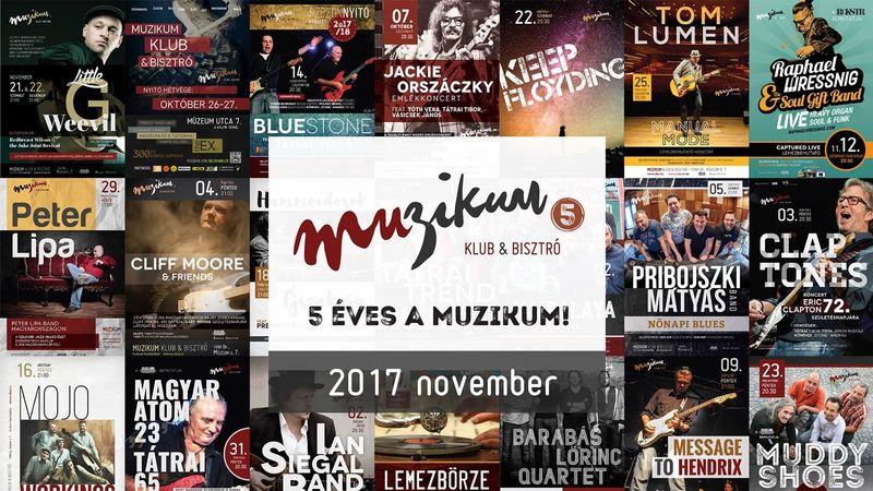 Sok-sok blues és egy kis Besh o droM: november a Muzikumban
