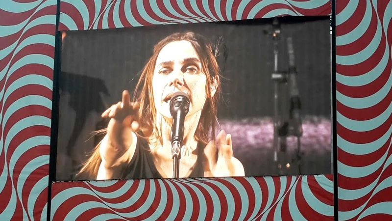 PJ Harvey a Szigeten / YouTube