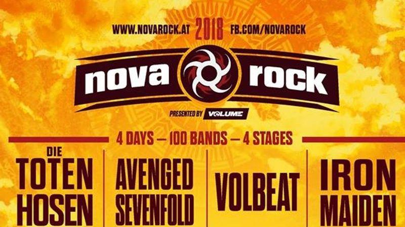 Nagy bejelentések a Nova Rock fesztivál háza tájáról!