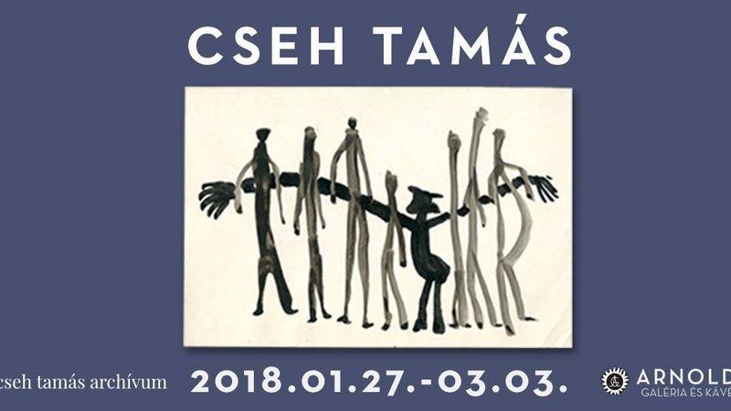 Cseh Tamás grafikáiból nyílik kiállítás