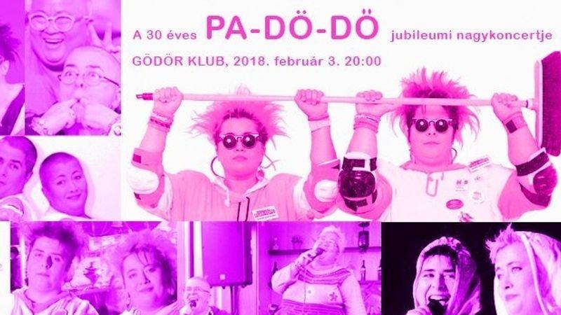30 éve balettoznak a zenei pályán - Pa-Dö-Dő jubileumi koncert