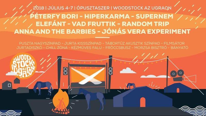 Idén is lesz Woodstock az Ugaron Annáékkal és vendégeikkel