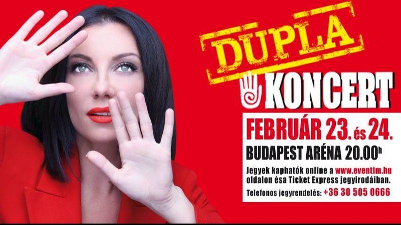 Az Ederlezitől Magyarország legnagyobb színpadáig: Rúzsa Magdi az Arénában – kétszer is