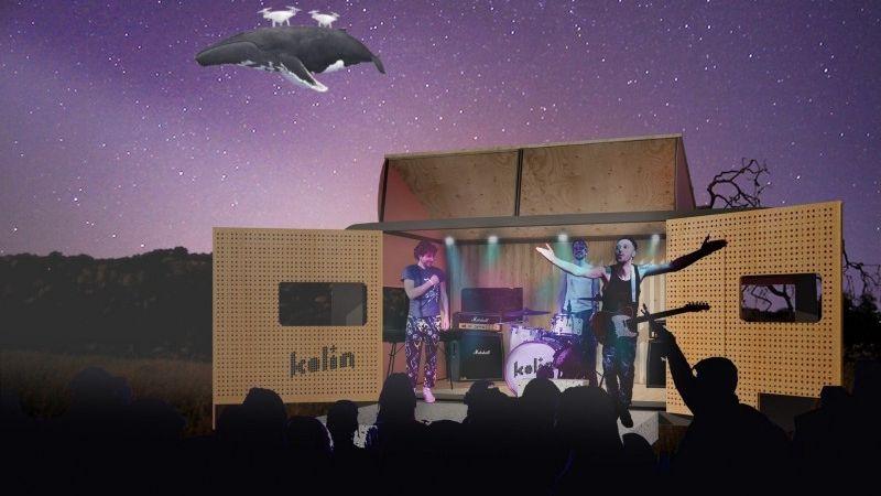 Szeretnél egy lakókocsiban aludni a The Kolin tagjaival?