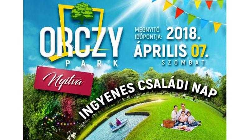 Marót Vikivel és fényfestéssel nyit a felújított Orczy-park