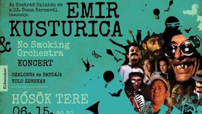 A Hősök terén ad koncertet Emir Kusturica