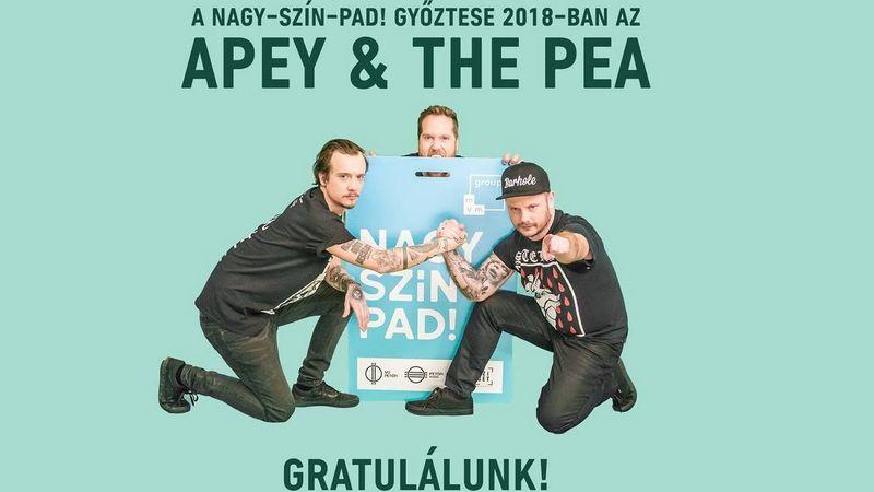 Az APEY & THE PEA nyerte a Nagy-Szín-Pad!-ot